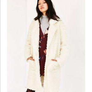 Minkpink Teddy Coat NWT